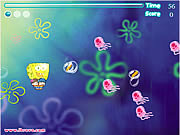 Click to Play Spongebob Balloon
