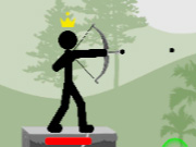Click to Play Stickman Archer: Mr Bow