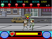 Click to Play Zombie vs Police